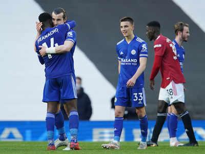 Manchester United vs Leicester City, Premier League Score: Man City win Premier League title after Man United lose to Leicester City
