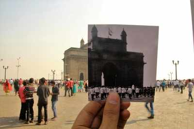 This photography project juxtaposed the different faces of Mumbai before and after the Partition