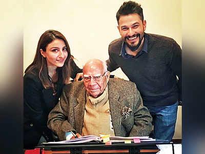 Soha Ali Khan pays a tribute to late lawyer Ram Jethmalani