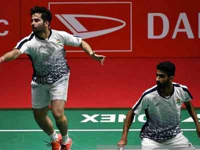 Manu Attri and B Sumeeth Reddy shock Olympic silver medallists at Japan Open