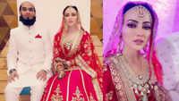 Sana Khan weds Muslim cleric, changes her name