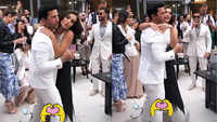 Pregnant Amy Jackson gets engaged in London