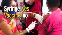 Bihar: Nurse injects empty syringe to 'vaccinate' man in Saran