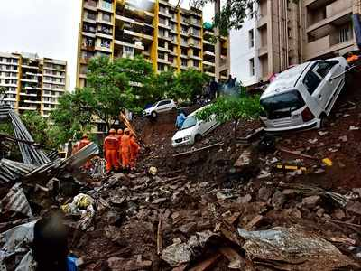 Six-member panel probing Pune wall collapse, says Chandrakant Patil