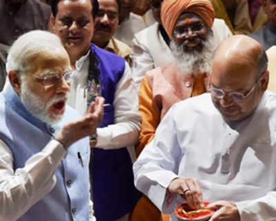 Tirupati laddoos for BJP parliamentary meet