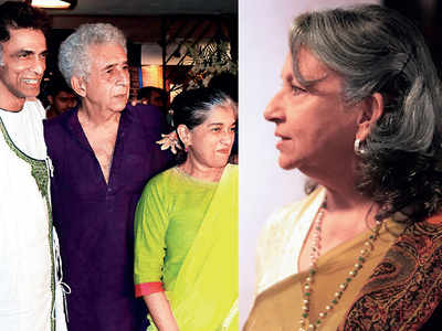 Sharmila Tagore, Rishi Kapoor and Naseeruddin Shah among others attend the opening of the Prithvi Theatre festival