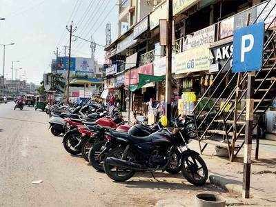 Bopal and SOBO remain untouched by trafic, anti-encroachment drives being carried out in Ahmedabad