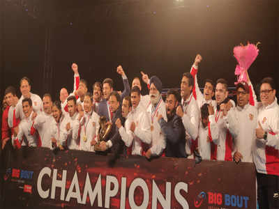 Big Bout Indian Boxing League: Gujarat Giants rally to claim top honours