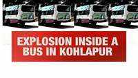 Blast occurs inside bus in Maharashtra's Kolhapur, kills bus driver on spot