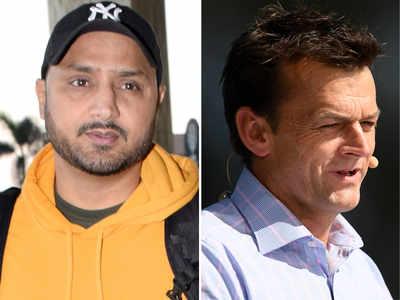 Harbhajan Singh, Adam Gilchrist in twitter spat