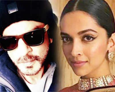 Deepika Padukone steps out of Shah Rukh Khan's next