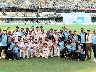 History Created: Celebrities, politicians congratulate Team India for stunning victory against Australia