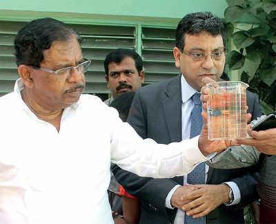 Deputy Chief Minister G Parameshwara urges BWSSB to up STP capacity