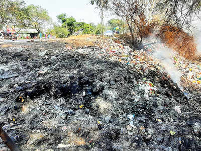 Trenches dug by PCMC to prevent trash dumping turn into traffic hazard