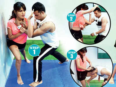 Fighting fit with Krav Maga