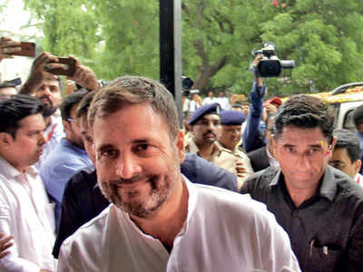 Defamation case: Rahul to be in court on Oct 10