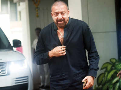Spotted: Sanjay Dutt in Juhu