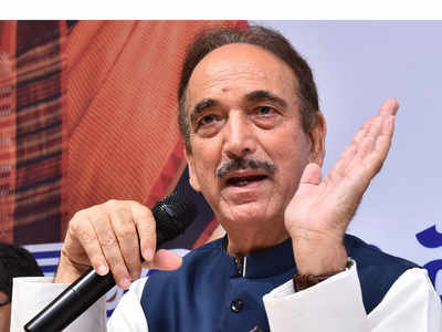Ghulam Nabi Azad: Return our 'Old India' where Hindus, Muslims, Sikhs and Christians live for each other
