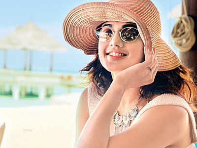 It's sun, sand, and sea in the Maldives for Taapsee now