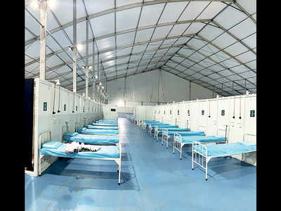Jumbo facility at Shivajinagar gets 40 new nurses from Hyderabad