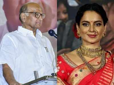 Sharad Pawar on BMC demolition of Kangana Ranaut's office: There are a lot of illegal structures in Mumbai