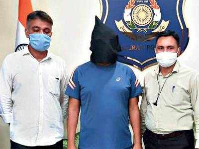 ATS arrests Jayesh Patel  gang member from Bopal