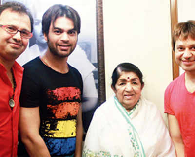 Lata is back in playback