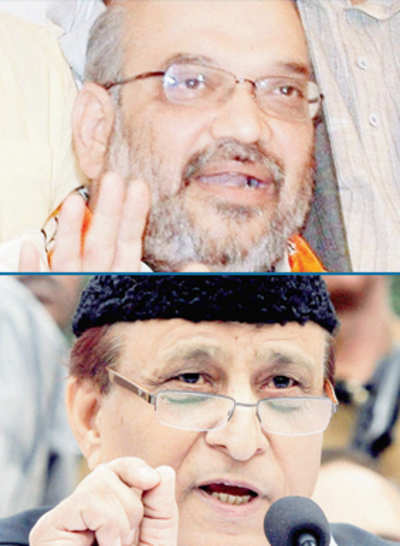 FIRs against Azam Khan, Amit Shah