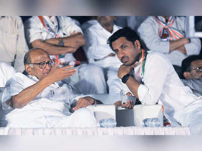 Parth Pawar meets Sharad Pawar to explain his position after criticism