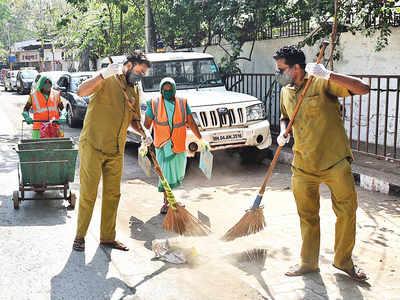 Villagers heckle BMC worker