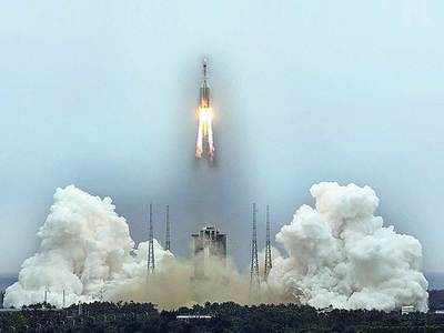 Chinese rocket segment all set to fall on Earth