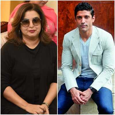 Birthday wishes pour in for Farhan Akhtar and Farah Khan