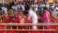 Leaders pay tribute to Jayalalithaa on death anniversary