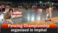 Fencing Championship organised in Imphal