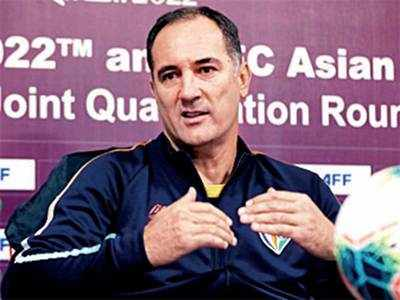 Football coach Igor Stimac: Not afraid to field a new India side