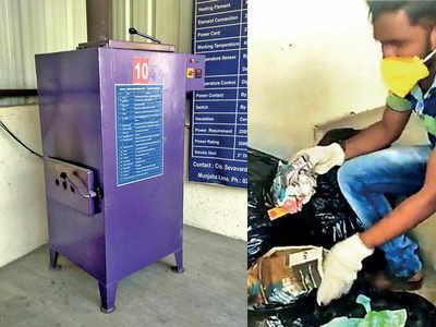 PMC plants process 10% sanitary pads