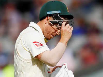 Broad gets Warner again but Aussie lead swells