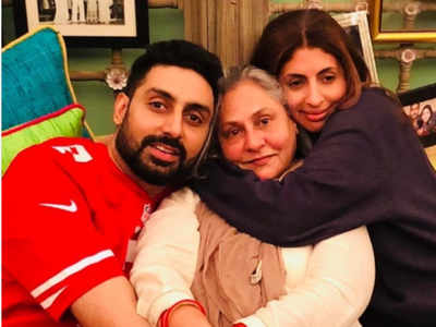 Photos: Here is how Abhishek Bachchan and Shweta Bachchan wished their mom on Instagram