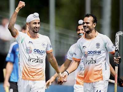 Champions Trophy 2018 Hockey: India defeat Argentina 2-1 in Sardar Singh's 300th game