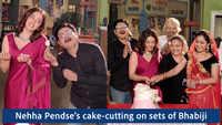 Nehha Pendse gets a warm welcome on the sets of Bhabiji Ghar Par Hain