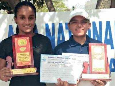 Kavya-Priyanshi win AITA CS7 doubles crown