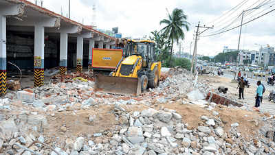 Work on Metro Phase II starts on Hosur Road