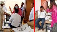 BJP leader Sonali Phogat slaps market committee secretary in Haryana's Hisar, video goes viral