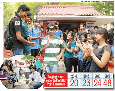 Freshers are a catch as ragging incidents rise at the double on campuses