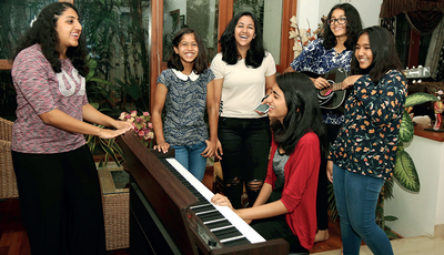 Sounds so school: 6 Bengaluru school girls collaborate with artists to release their first album
