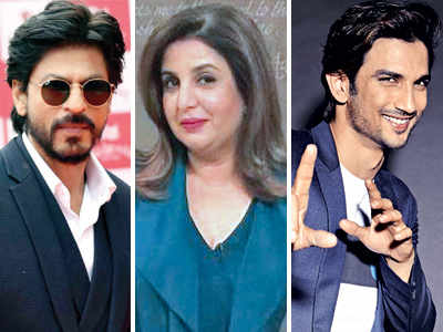 Shah Rukh Khan, Sushant Singh Rajput team up with Farah Khan