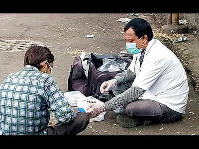 350 beggars to donate blood over four months