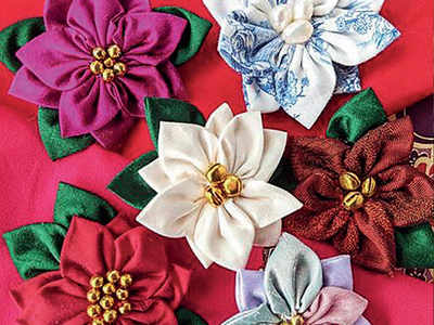 PLAN AHEAD: Make kanzashi flowers