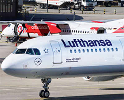 Lufthansa, city airport bicker over hike in a spate of charges