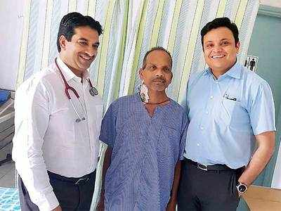 Tumour double the size of kidney nicked in surgery